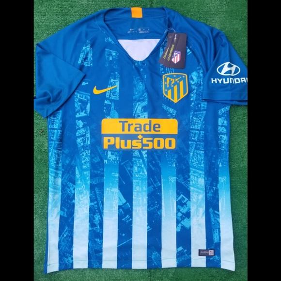 5073e7473b2 Nike Shirts   201819 Atletico Madrid 3rd Kit Soccer Jersey   Poshmark